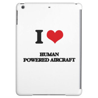 I Love Human Powered Aircraft Cover For iPad Air