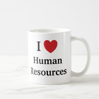 I Love Human Resources I Heart Human Resources Coffee Mug