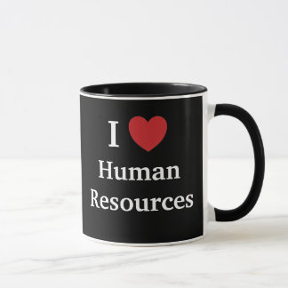 I Love Human Resources Loves Me Funny HR Quote Mug