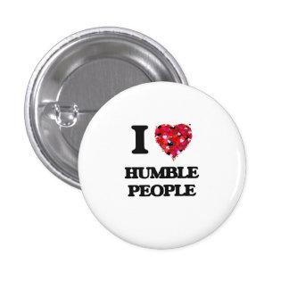 I Love Humble People 3 Cm Round Badge
