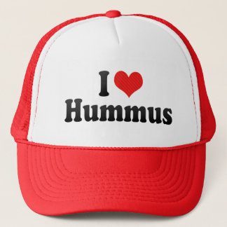 I Love Hummus Trucker Hat