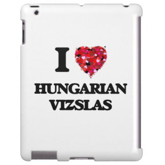 I love Hungarian Vizslas iPad Case
