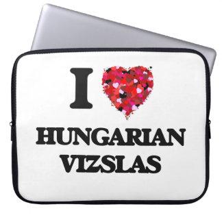 I love Hungarian Vizslas Laptop Computer Sleeve