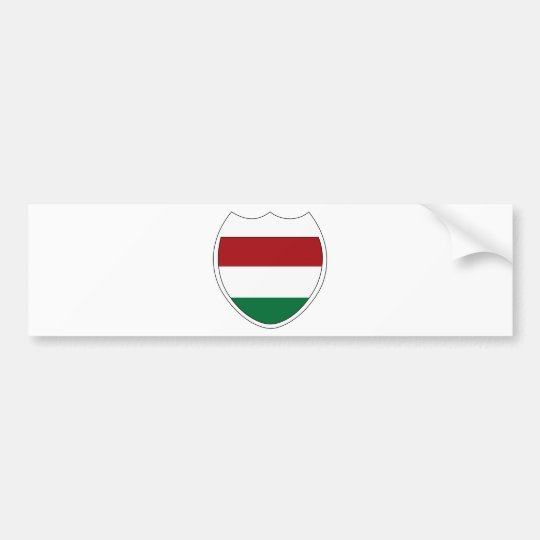 I Love Hungary Bumper Sticker