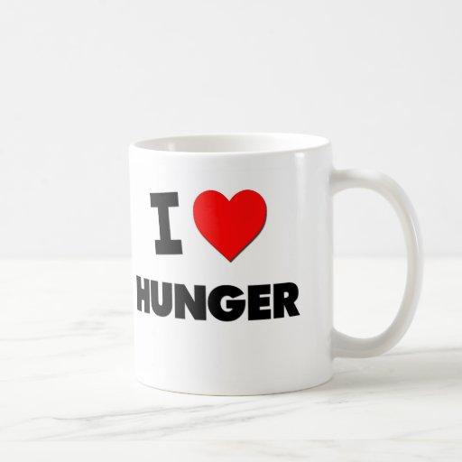 I Love Hunger Mugs