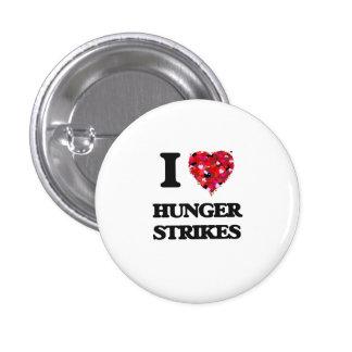 I Love Hunger Strikes 3 Cm Round Badge