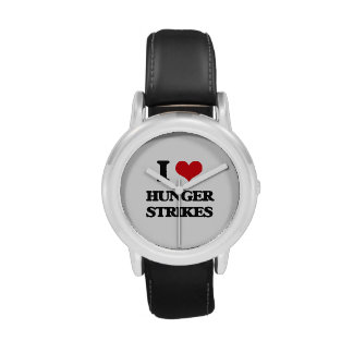I love Hunger Strikes Wristwatch