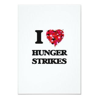 I Love Hunger Strikes 9 Cm X 13 Cm Invitation Card