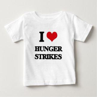 I love Hunger Strikes Tee Shirts