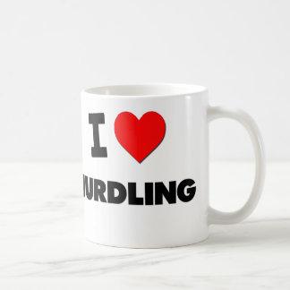 I Love Hurdling Coffee Mug