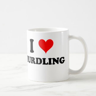 I Love Hurdling Mugs