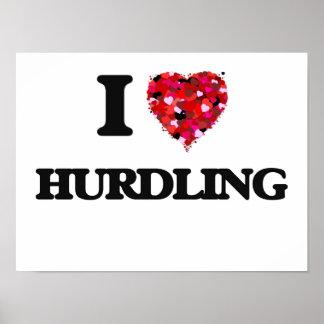 I Love Hurdling Poster