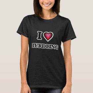 I Love Hurdling T-Shirt