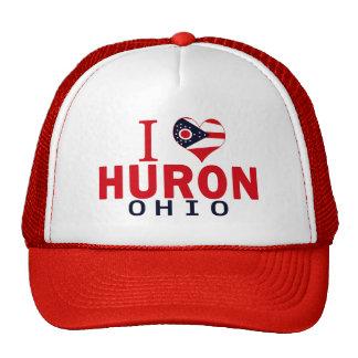 I love Huron, Ohio Cap