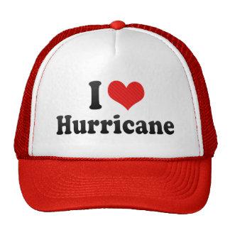 I Love Hurricane Mesh Hat
