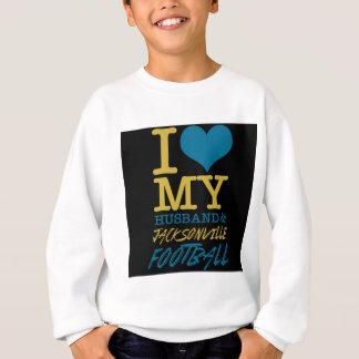 -I-love-husband  jacksonville Sweatshirt