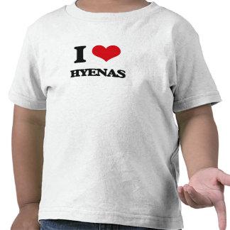 I love Hyenas Tshirts