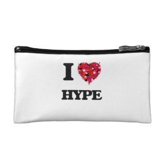 I Love Hype Cosmetic Bags