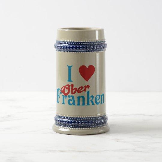 I love I love Upper Franconia Beer Stein