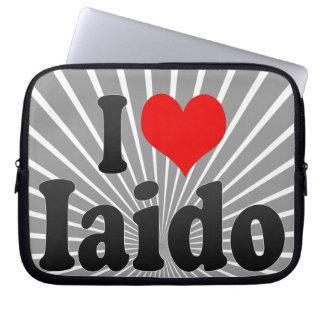 I love Iaido Laptop Computer Sleeves