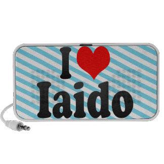 I love Iaido Laptop Speaker