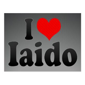 I love Iaido Postcard