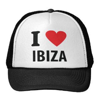 I love Ibiza icon Cap
