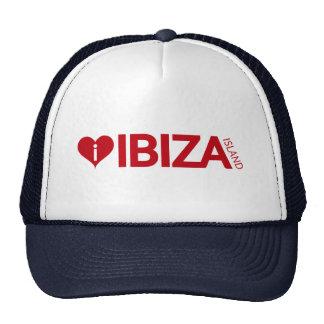i Love Ibiza Island Original Authentic souvenirs. Cap