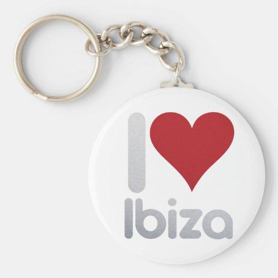 I LOVE IBIZA KEY RING