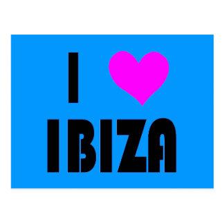 I Love Ibiza postcard
