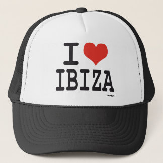 I love Ibiza Trucker Hat