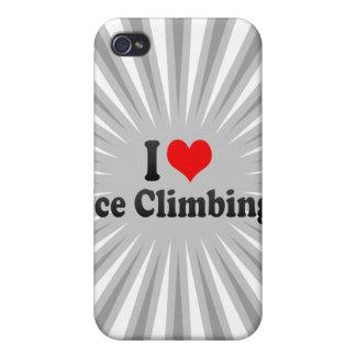 I love Ice Climbing iPhone 4/4S Covers