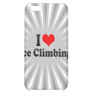 I love Ice Climbing iPhone 5C Covers