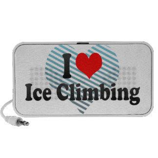 I love Ice Climbing Travel Speaker