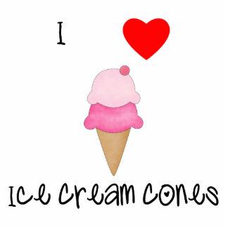 I love ice cream cones acrylic cut outs