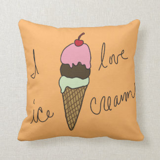 I love Ice Cream Cushion