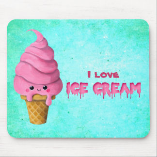 I love Ice Cream Mouse Pad
