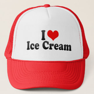 I Love Ice Cream Trucker Hat