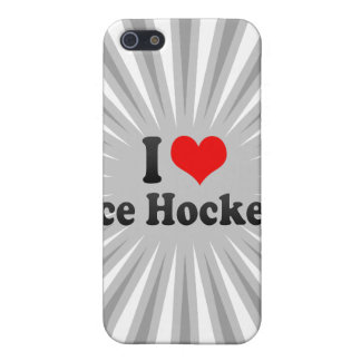 I love Ice Hockey Case For The iPhone 5