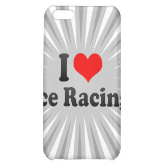 I love Ice Racing Case For iPhone 5C