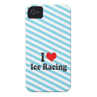 I love Ice Racing iPhone 4 Cover