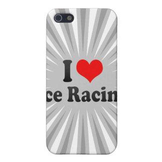 I love Ice Racing iPhone 5 Case