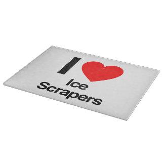i love ice scrapers cutting board