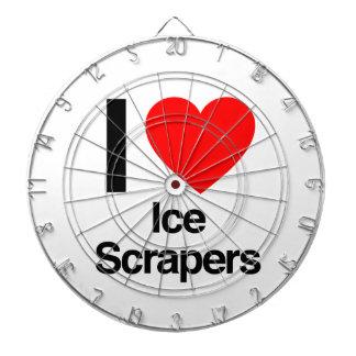 i love ice scrapers dartboard