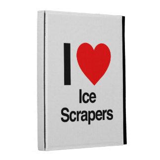 i love ice scrapers iPad folio case