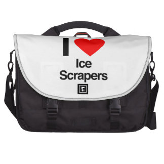 i love ice scrapers laptop bags