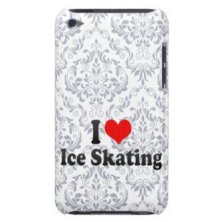I love Ice Skating Barely There iPod Covers