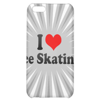 I love Ice Skating Case For iPhone 5C