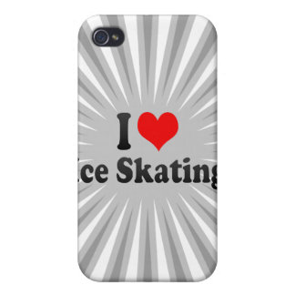 I love Ice Skating Cover For iPhone 4