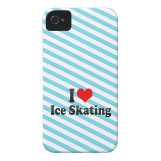 I love Ice Skating iPhone 4 Case-Mate Case